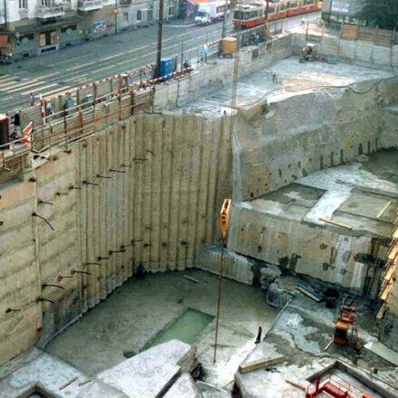 Bild von Baugrube Kreuzplatz