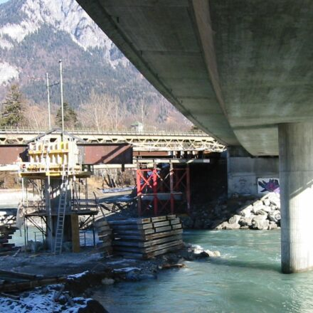 Bild von Hinterrheinbrücke (Hilfsbrücke)