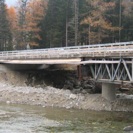 Bild von Hilfsbrücke Tambo-Splügen West