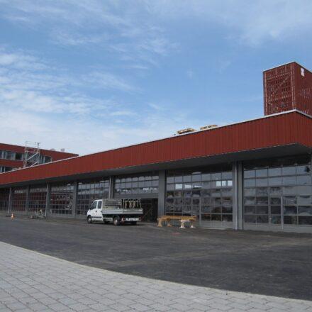 Bild von Werk- und Feuerwehrgebäude